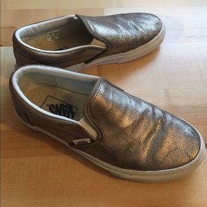 4945a05112d325 Vans Shoes - J. Crew Metallic Bronze Vans EU 36.5 Women s 6.5